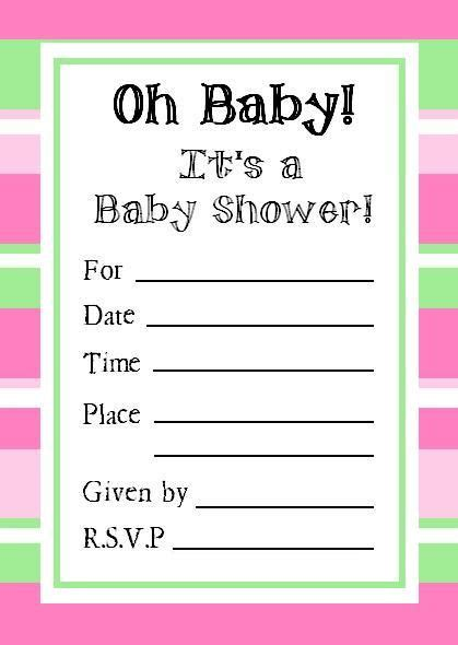 Free Printable Baby Shower Invitations For - 11 best free printable baby shower invitations images on