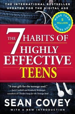 habits  highly effective teens book  sean