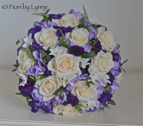 Wedding Flowers Blog Emma's Purple,cream And Lilac
