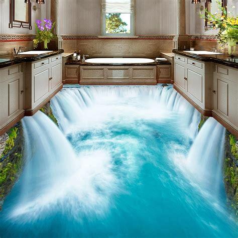 3d fußboden bilder hochwertige boden wandbild tapete pvc wasserdichte selbstklebende tapete badezimmer wc 3d boden