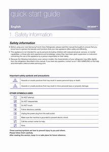 Samsung Rf26hfendsl  Em Installation Guide
