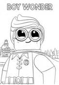 Lego Robin coloring page | Free Printable Coloring Pages