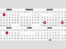 Calendario laboral El Diario Vasco