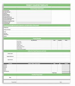 Project charter template doliquid for Software project charter template
