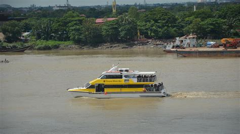 Yangon Boat Service by New Ships Delivered For Yangon Water Service Fly In
