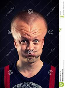 Inflated Head Stock Image  Image Of Failure  Bizarre