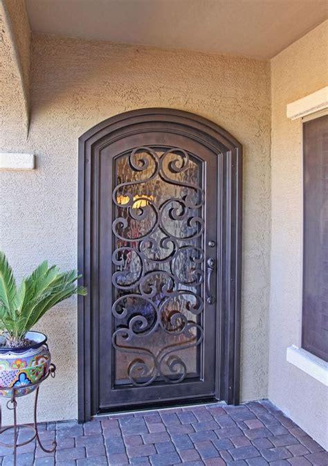 puertas de herreria sencillas  bonitas decoracion de