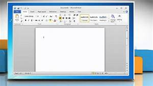 Microsoft U00ae Word 2010  How To Create A Calendar On Windows