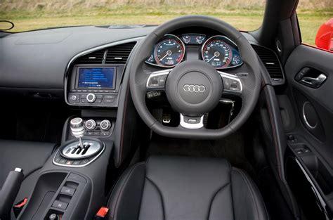 audi r8 interior audi r8 spyder v10 2010 2014 review 2017 autocar