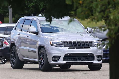 2018 Jeep Grand Cherokee Trackhawk Might Have Torque