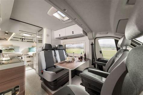 Interior Of The Westfalia Columbus Camper Van, Built On
