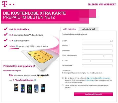 telekom kostenlose xtra card ab sofort wieder erhaeltlich