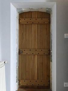 Porte D Intérieur Sur Mesure : creation d 39 une porte d 39 int rieur sur mesure en bois de ~ Dailycaller-alerts.com Idées de Décoration