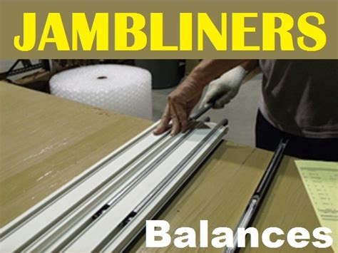double hung window track jamb liner balance track parts marvin window  door parts