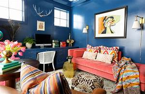 make way for eclectic home decor With art on walls home decorating