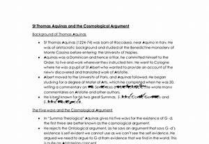 Cosmological Argument Essay Essay On Vivekananda Arguments Against  Aquinas Cosmological Argument Essay Sample College Application Essay  Assistance Essay Examples High School also Descriptive Essay Thesis  High School And College Essay