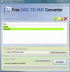 6 best free software to batch convert word to pdf With document to pdf converter download