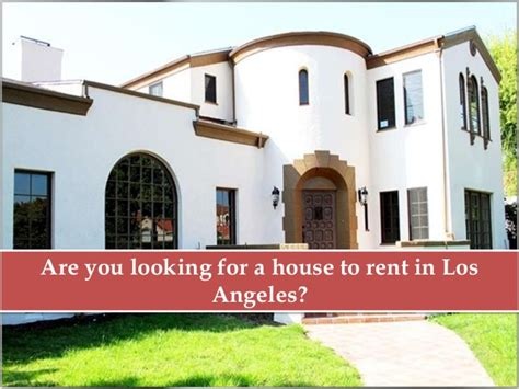 Where To Rent House For Filming In Los Angeles?