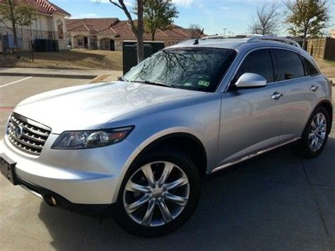automotive service manuals 2003 infiniti fx lane departure warning find used 2006 infiniti fx45 awd 20 quot wheels 1 owner loaded tech pkg nav new tires only 50k in