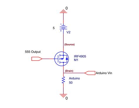 Can Use Mosfet Switch Power Arduino