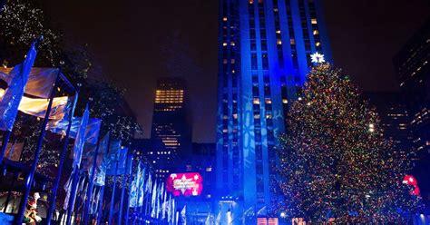 the rockefeller center christmas tree 2016 photos