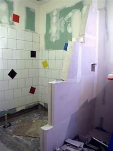 19 salle de bain cloison douche siporex h600 photo de With cloison salle de bain