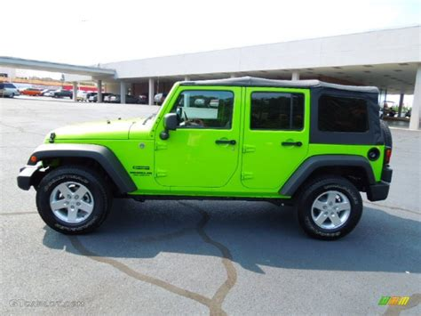 jeep unlimited green gecko green 2012 jeep wrangler unlimited sport s 4x4