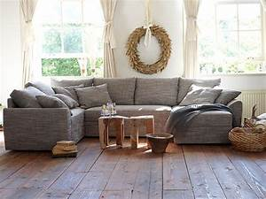 Farmhouse wooden floors gray sectional wheat wreath for Sectional sofa farmhouse