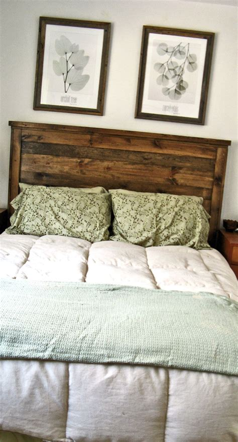 project reclaimed wood  queen headboard     toddler  napping