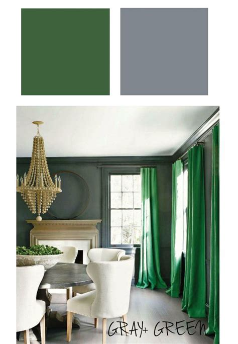 emerald green   hues  match living room green