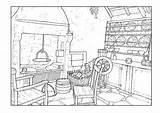 Coloring Printable Adult Drawing Sheets Drawings Coloringtop sketch template