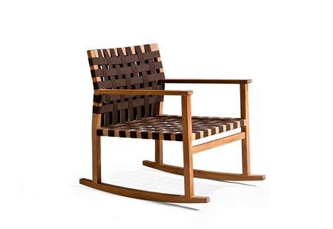 vis 224 vis rocking chair by trib 249 stylepark