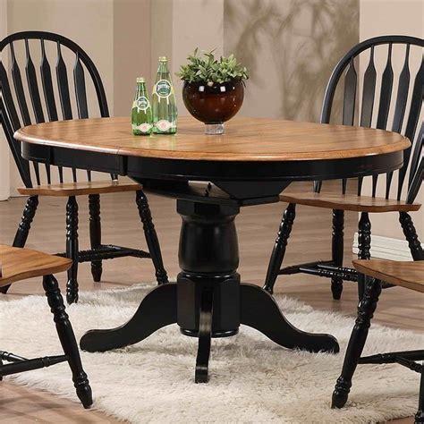 missouri  dining table black rustic oak eci