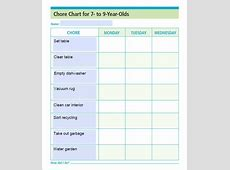 9+ weekly chore checklist template new tech timeline