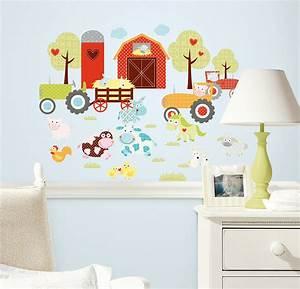 Wandtattoo Wall Art : roommates wandsticker wandtattoo lustiger bauernhof www 4 ~ Sanjose-hotels-ca.com Haus und Dekorationen