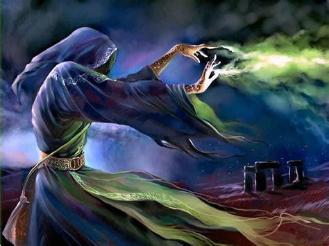 -dark Wizard Using Special Powers