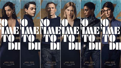 美しい No Time To Die Poster 2020 - 矢じり