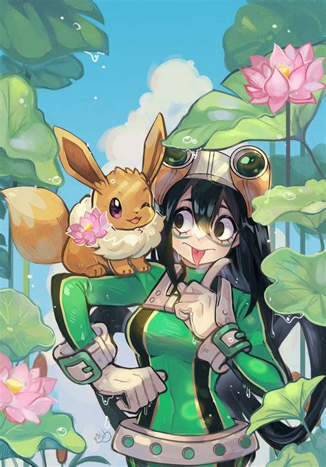 Froppy X Eeveee Commission By Alpacacarlesi On Deviantart