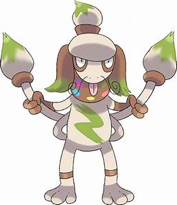 Pokémon #8235 Mega-Smeargle Mega Artwork