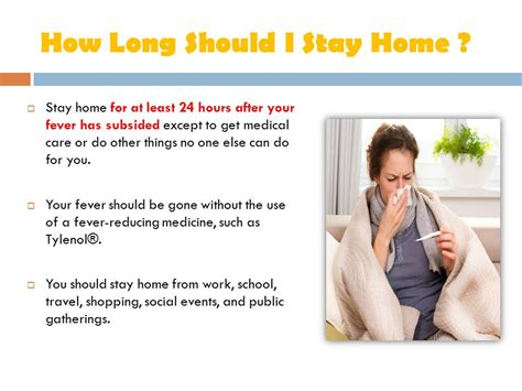 Should I List Stay At Home On My Resume by The Flu Ends With You Flu Information Ppt