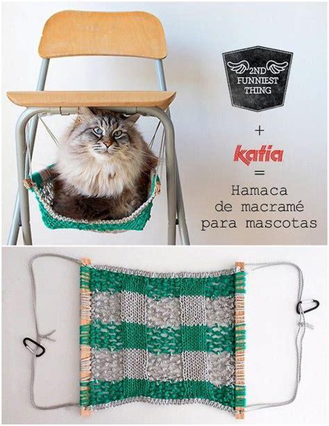 Crochet Cat Hammock by Diy Macrame Cat Hammock Tutorial From 2nd Funniest Thing