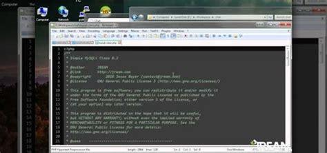 php website phpwebsite build a php website