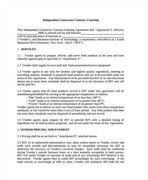 catering contract templates apple pages google docs