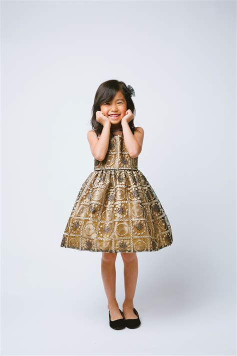 the salzburg dress bronze gold pale yellow lace ages3 to sk 610 dress style 610 bronze sleeveless dress
