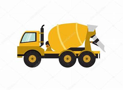 Mixer Cement Ikone Lastwagen Truck Vrachtwagen Revolvedora