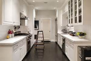 Image of: Small Corridor Kitchen Design Idea Galley Kitchen Design In Modern Living