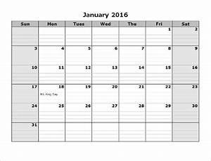 Monthly Calendar Template Microsoft Word 2016 Calendar Template 46 Free Word Pdf Psd Eps Ai