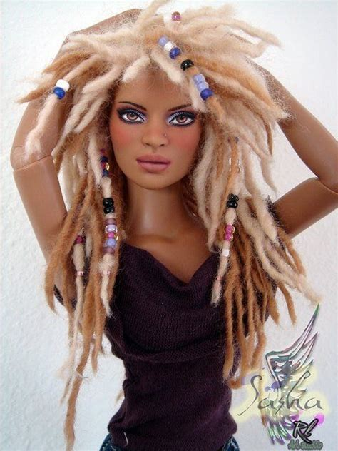 hair styling 56 best doll locs hair images on 3545