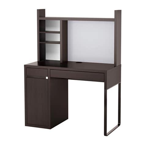 Ikea Micke Desk Black by Micke Work Station Black Brown Ikea