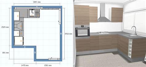plan type cuisine plan ikea cuisine cuisine en image